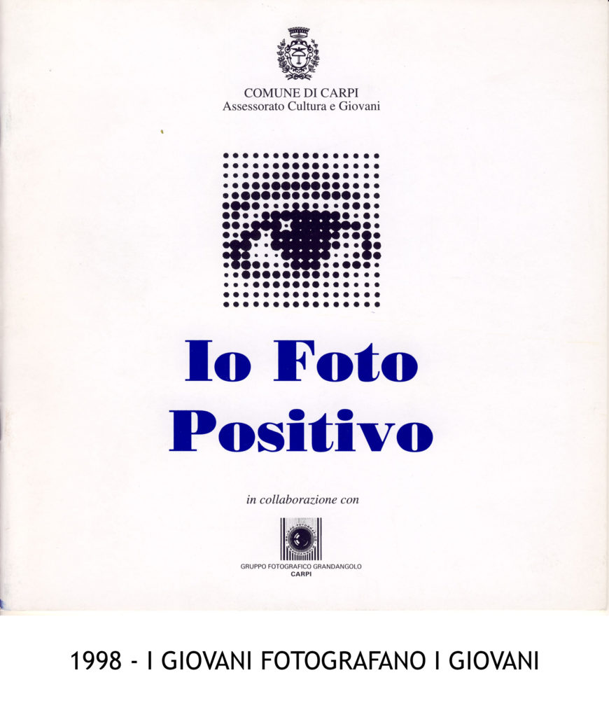 1998 Io foto positivo I giovani fotografano i giovani