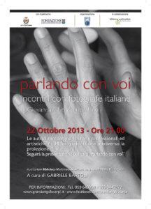 2016 10 22 ParlandoConVoi Loc A3