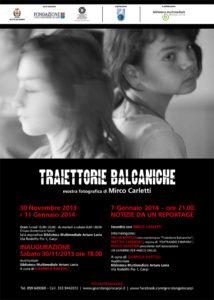 Mirco Carletti Manifesto Traiettorie Balcaniche