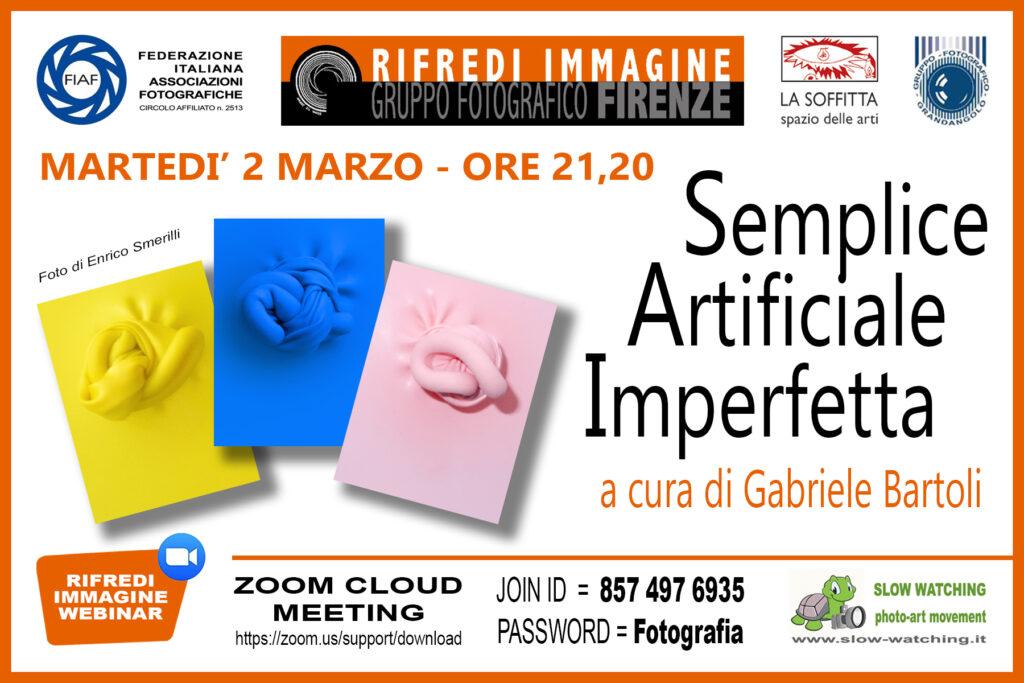 2021 03 02 SAI Semplice Artificiale Imperfetta RIFREDI