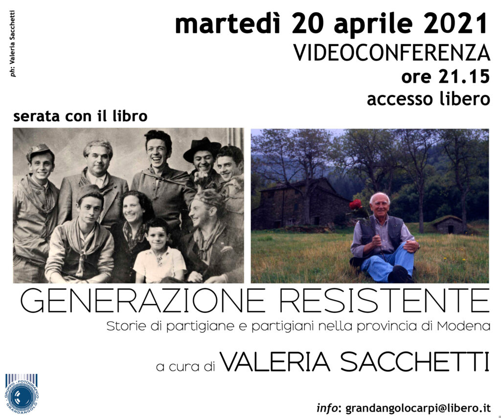 2021 04 20 Valeria Sacchetti Generazione Resistente